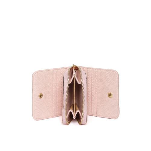 Lino Perros Women Pink Solid Zip Around Wallet