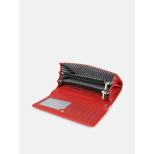 Mast & Harbour Women Red Solid Two Fold Wallet