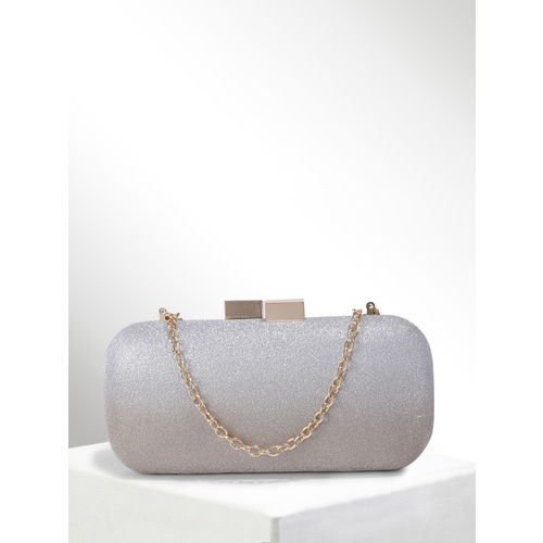 CORSICA Silver-Toned & Gold-Toned Ombre Clutch
