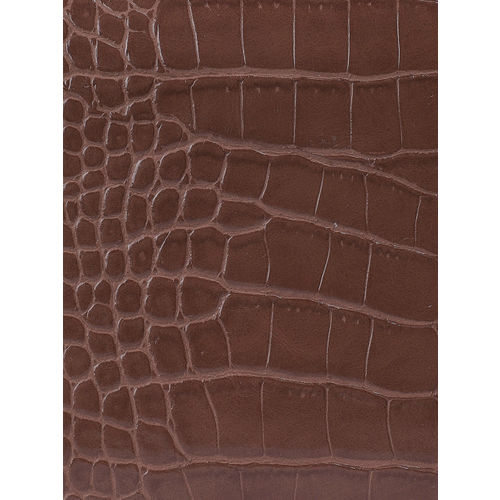 CORSICA Brown Textured Clutch