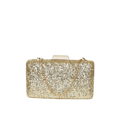 Lino Perros Gold-Toned Embellished Clutch