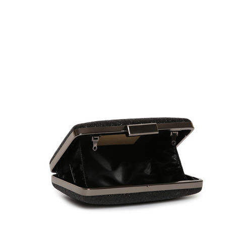 Lisa Hayden for Lino Perros Black Shimmer Box Clutch