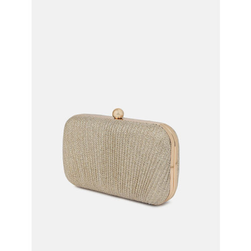 Anouk Gold-Toned Embellished Clutch