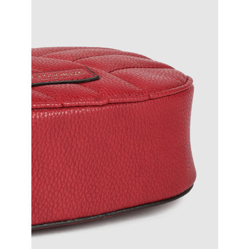 Accessorize Red Quilted Sling Bag