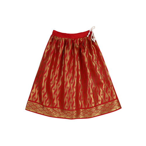 BownBee Red Ready to Wear Lehenga & Blouse