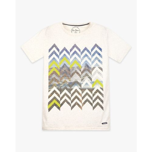 SIN Graphic Print Crew-Neck T-shirt