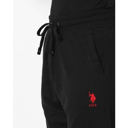 U.S. Polo Assn. Drawstring Track Pants with Side Pockets