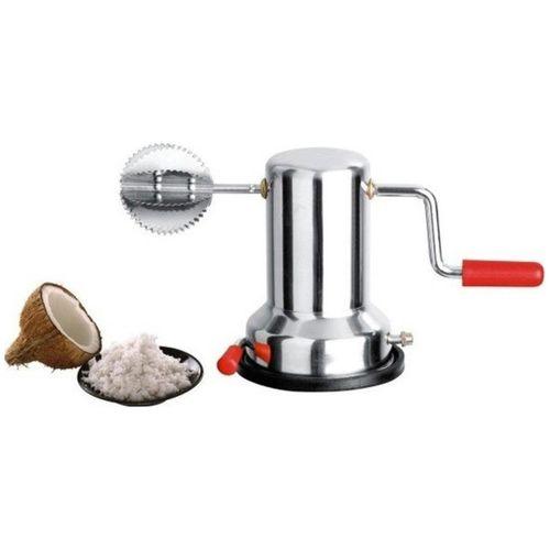 Kitchen4U Stainless Steel Coconut Scraper with Vacuum Base by Kitchen 4u