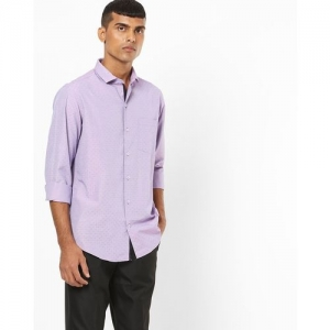 JOHN PLAYERS Printed Slim Fit Shirt with Patch Pocket