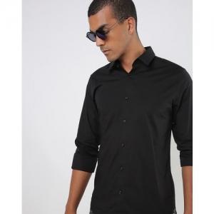 UNITED COLORS OF BENETTON Slim Fit Poplin Stretch Shirt