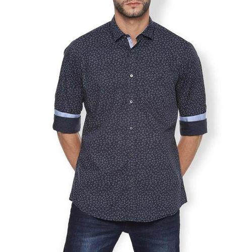 VAN HEUSEN Floral Print Slim Fit Cotton Shirt