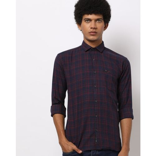 BREAKPOINT Checked Shirt with Patch Pocket