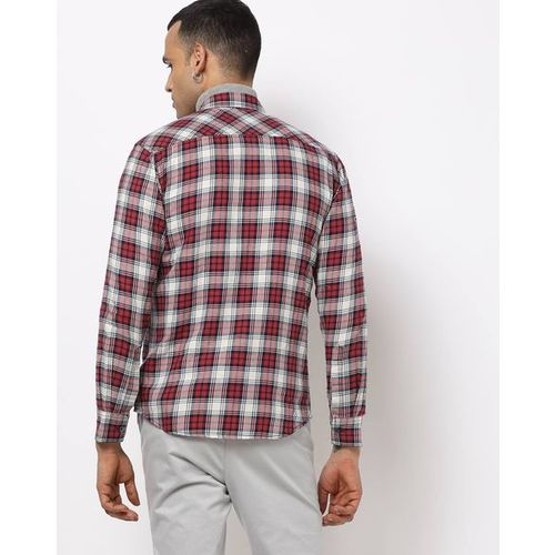 MUFTI Slim Fit Checked Shirt