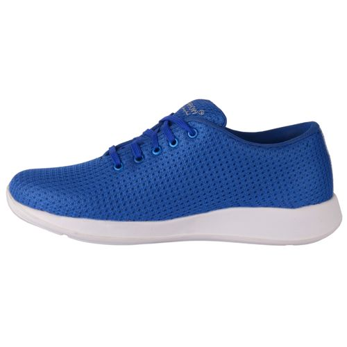 1AAROW Men's Blue Solid Lace Up Sports Shoes