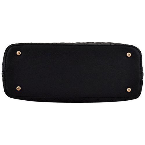 Mark & Keith Black PU Handheld Bag by Mbg Sales