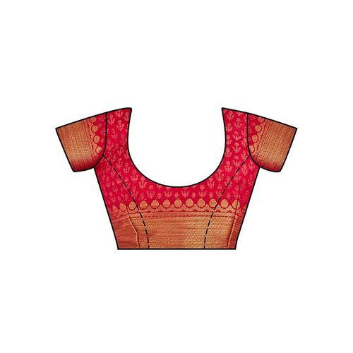 Mimosa conversational kanjivaram saree with blouse