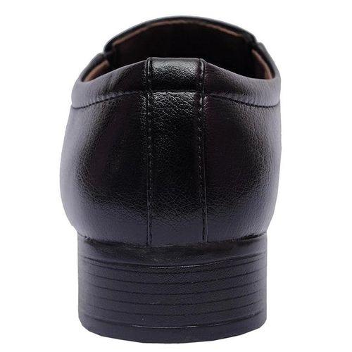 Vitoria Black Slipon Shoes For Men
