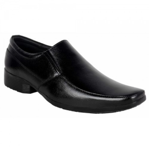 1AAROW 076 BLACK GENUINE LEATHER MOC