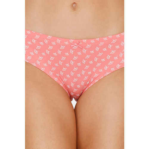 Zivame (Pack of 3) Hipster Low Rise Anti-Microbial Panty - Wind Pt Yellow Red