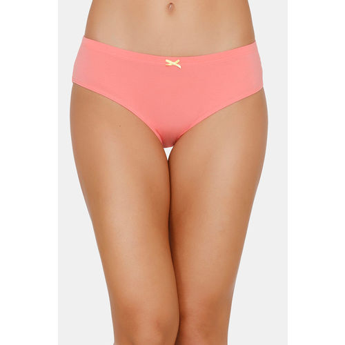 Zivame (Pack of 3) Hipster Low Rise Anti-Microbial Panty - Wind Pt Green Rose
