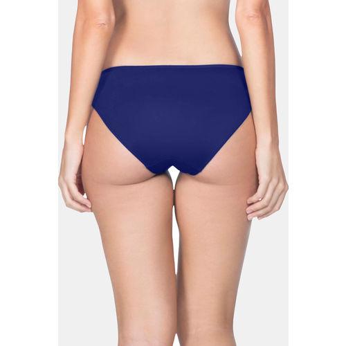 Amante Low Rise Bikini Panty - Navy Blue