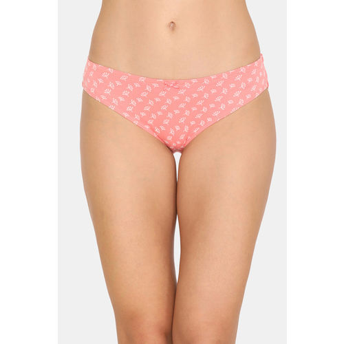 Zivame (Pack of 3) Bikini Low Rise Anti-Microbial Panty - Wind Pt Red Blue