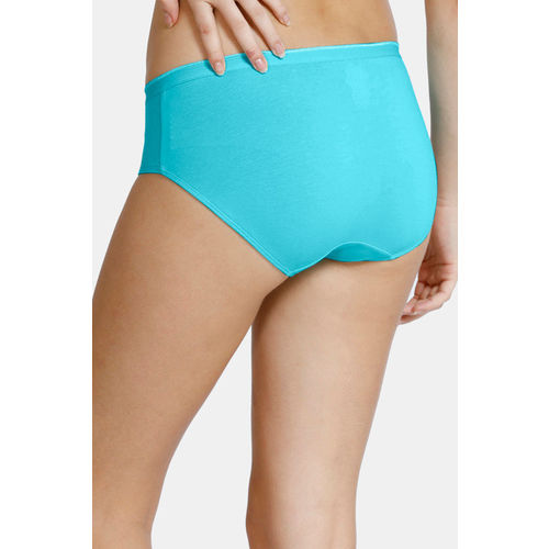 Zivame (Pack of 3) Hipster Low Rise Anti-Microbial Panty - Blue Ceramic Grey