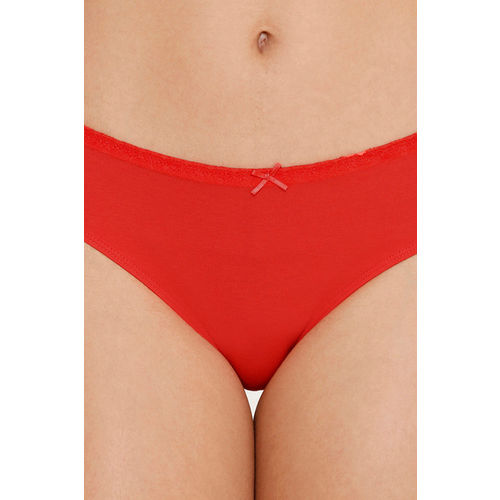 Zivame (Pack of 3) Hipster Low Rise Anti-Microbial Panty - Pacific Peach Cherry