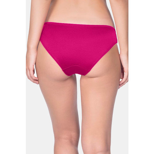 Amante Low Rise 3/4th Coverage Perfect Lift Bikini Panty - Pink