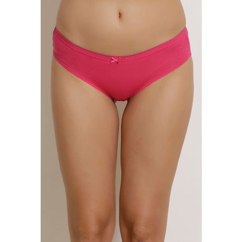 Zivame (Pack of 3) Hipster Low Rise Anti-Microbial Panty - Pink Blue Purple