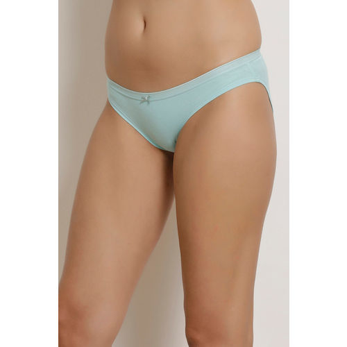 Zivame (Pack of 3) Bikini Low Rise Anti-Microbial Panty -Blue Purple Print