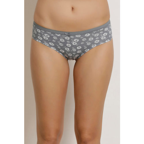 Zivame Anti-Microbial Low Rise Bikini Panty (Pack of 3)- Assorted