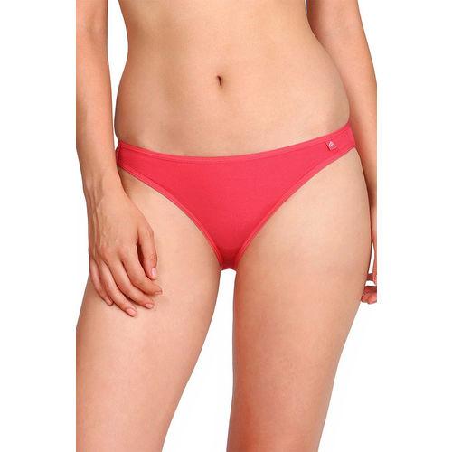 Jockey Low Waist Cotton Bikini Stretch Brief- Ruby