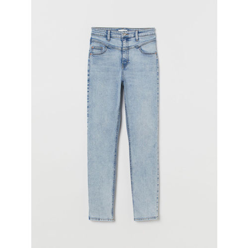H&M Women Blue Skinny High Jeans