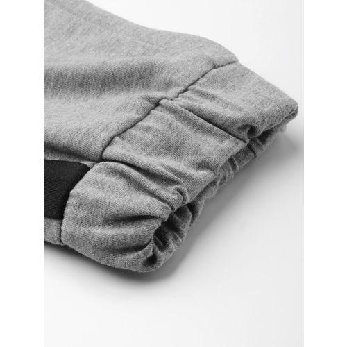Hubberholme Women Grey Melange Slim Fit Solid Joggers