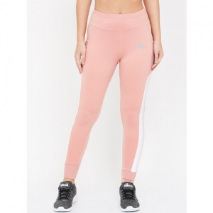 Kappa Women Pink Solid Joggers