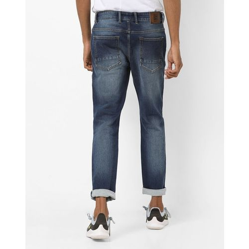 DNMX Mid-Rise Skinny-Fit Washed Jeans
