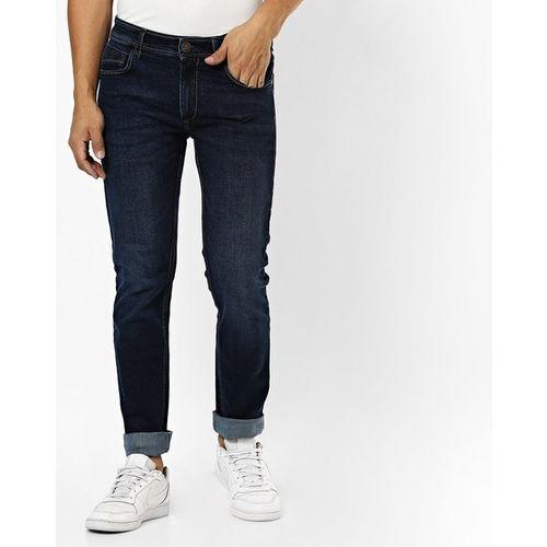 JOHN PLAYERS Slim Fit Cotton Jeans
