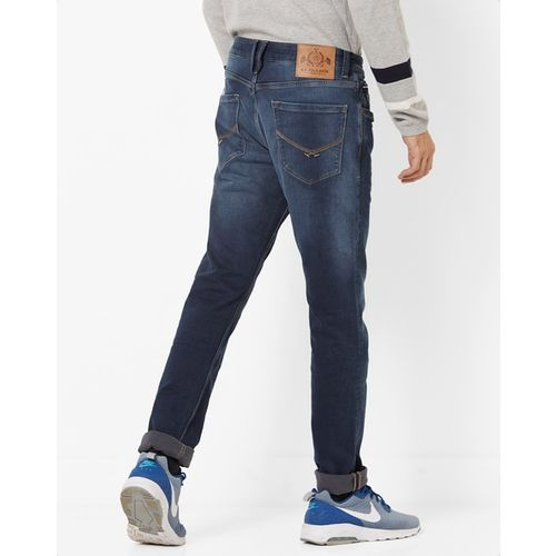 U.S. Polo Assn. Slim Fit Lightly Washed Jeans