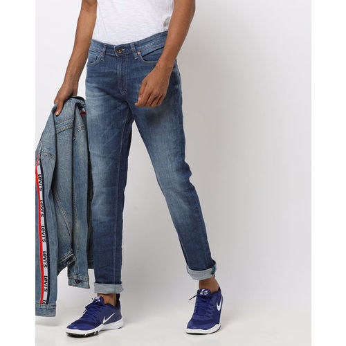 UNITED COLORS OF BENETTON Mid-Wash Skinny Jeans
