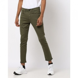 AJIO Low-Rise Skinny Fit Cropped Jeans