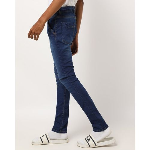 BREAKPOINT Washed Mid-Rise Jeans