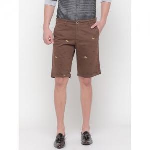 SHOWOFF Animal Print Slim Fit Shorts