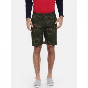 BREAKBOUNCE Camouflage Slim Fit Shorts