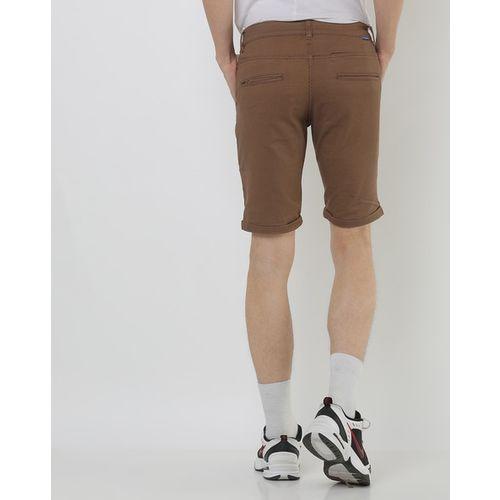 Blue Saint Slim Fit Flat-Front City Shorts