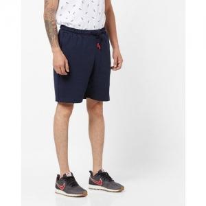 FILA Mid-Rise Shorts with Insert Pockets