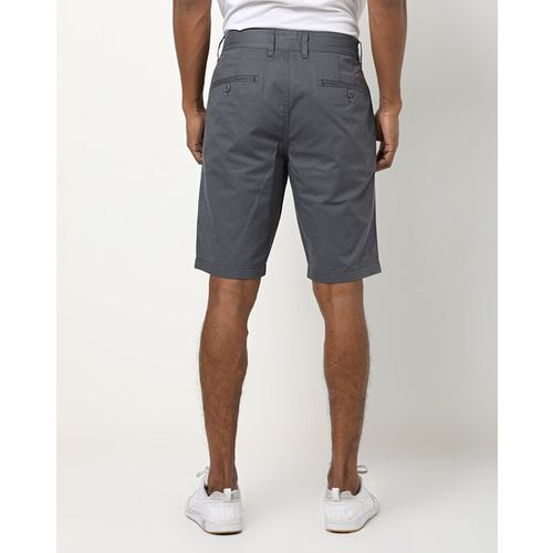 DNMX Textured Mid-Rise Slim-Fit Shorts