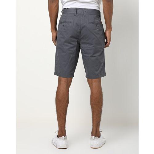 DNMX Textured Mid-Rise Slim-Fit Shorts