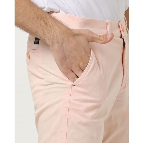 The Indian Garage Co Slim Fit Flat-Front Shorts