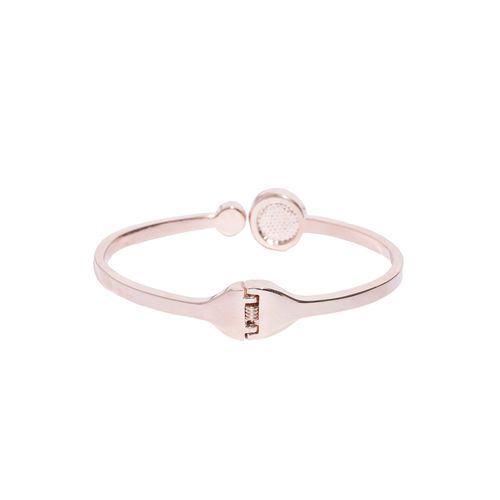 Jewels Galaxy gold metal bangle bracelet